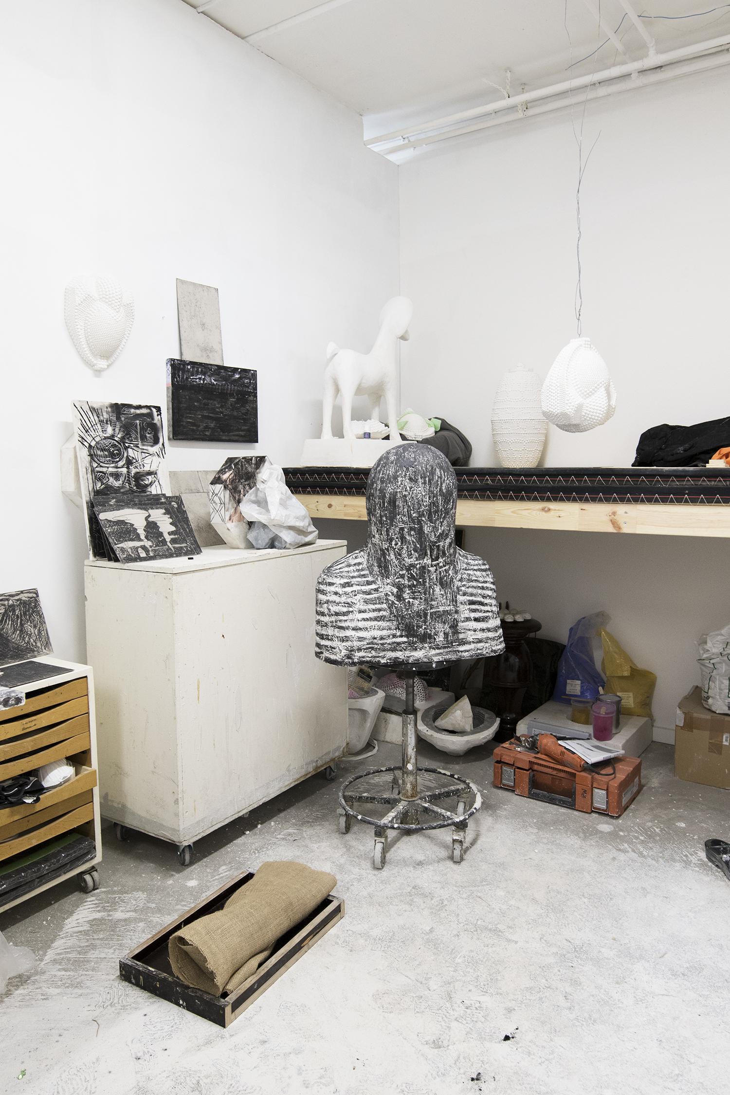 Malene Bangs atelier. Foto © I DO ART Agency.