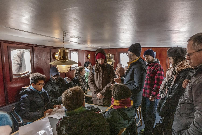 Sailing Ceremony, Policy Transformation, Schooner MAJA. Photo: Niels Fabæk.