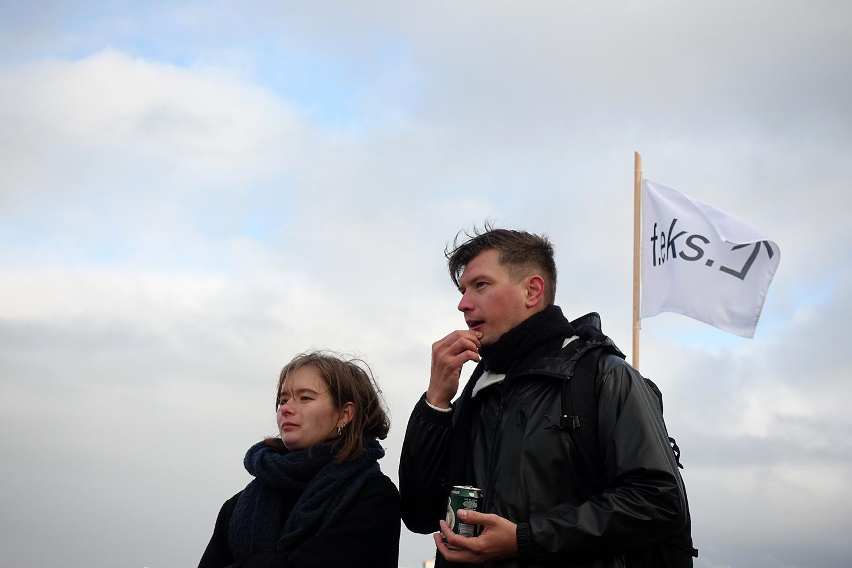 Sailing Ceremony, Arrival, Schooner MAJA. Photo: Rikke Ehlers Nilsson.
