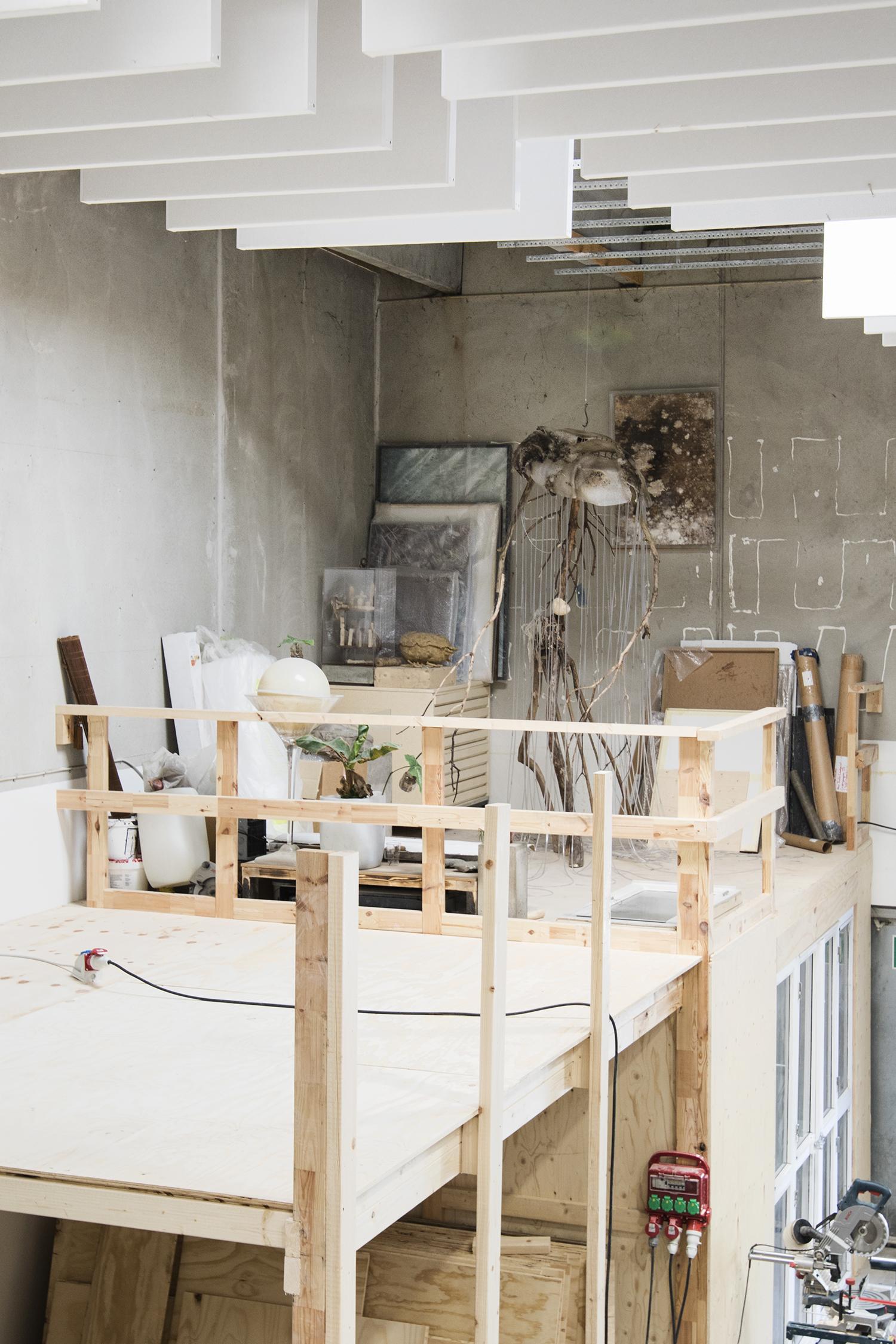 Silas Inoues atelier. Foto © I DO ART Agency.