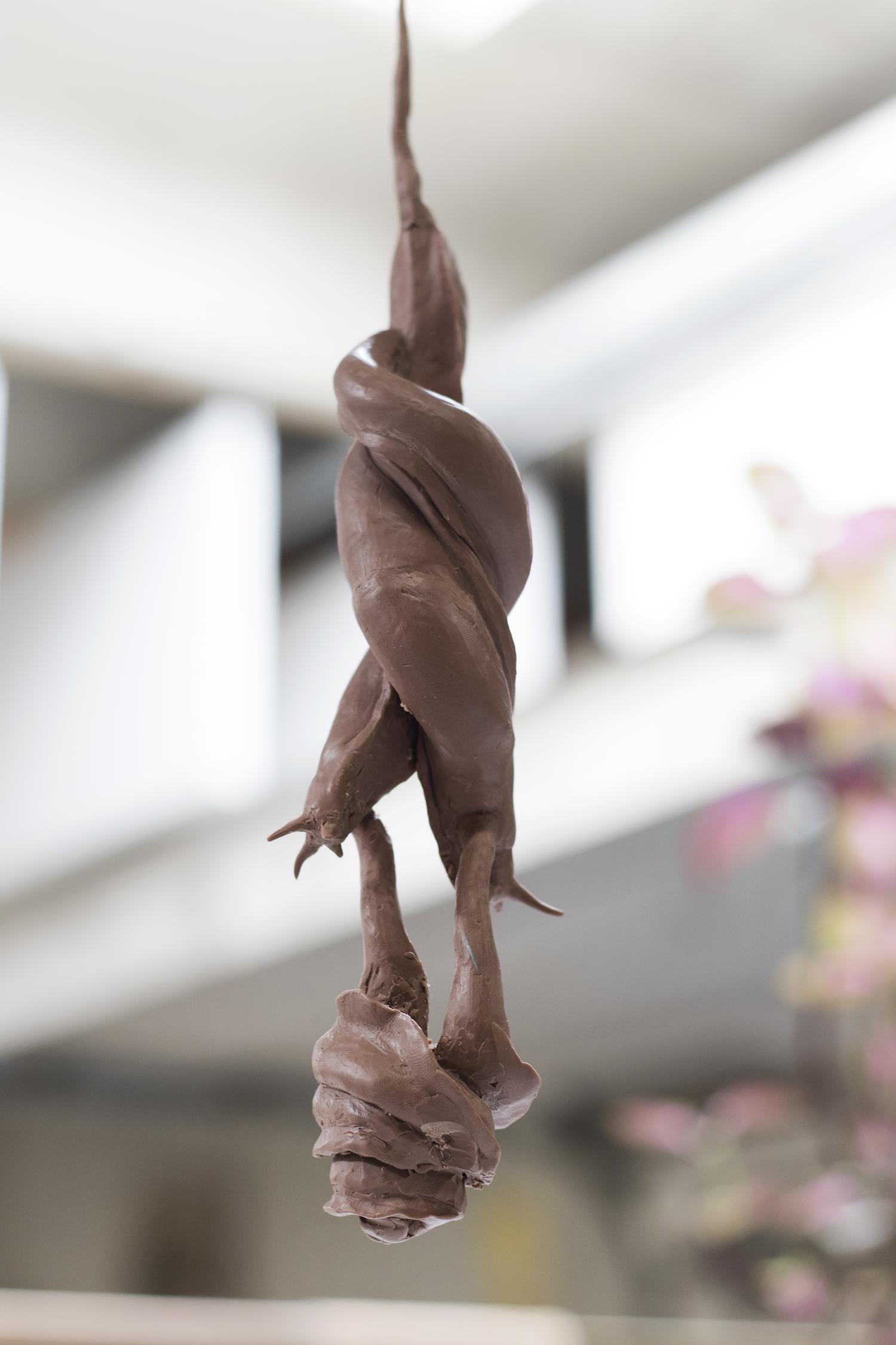 Detalje fra Viktor-Emil Dupont Billunds atelier. Foto © I DO ART Agency.