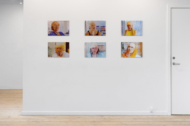 Miriam Kongstad, Bloom of Flesh (2019). Installation view, Kunsthal Aarhus. Foto: Mikkel Kaldal.