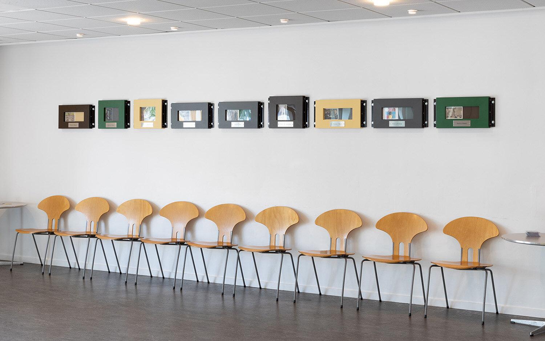Jørgen Michaelsen, Dosis (2019). Installation view på Aarhus Politigård. Foto: Mikkel Kaldal.