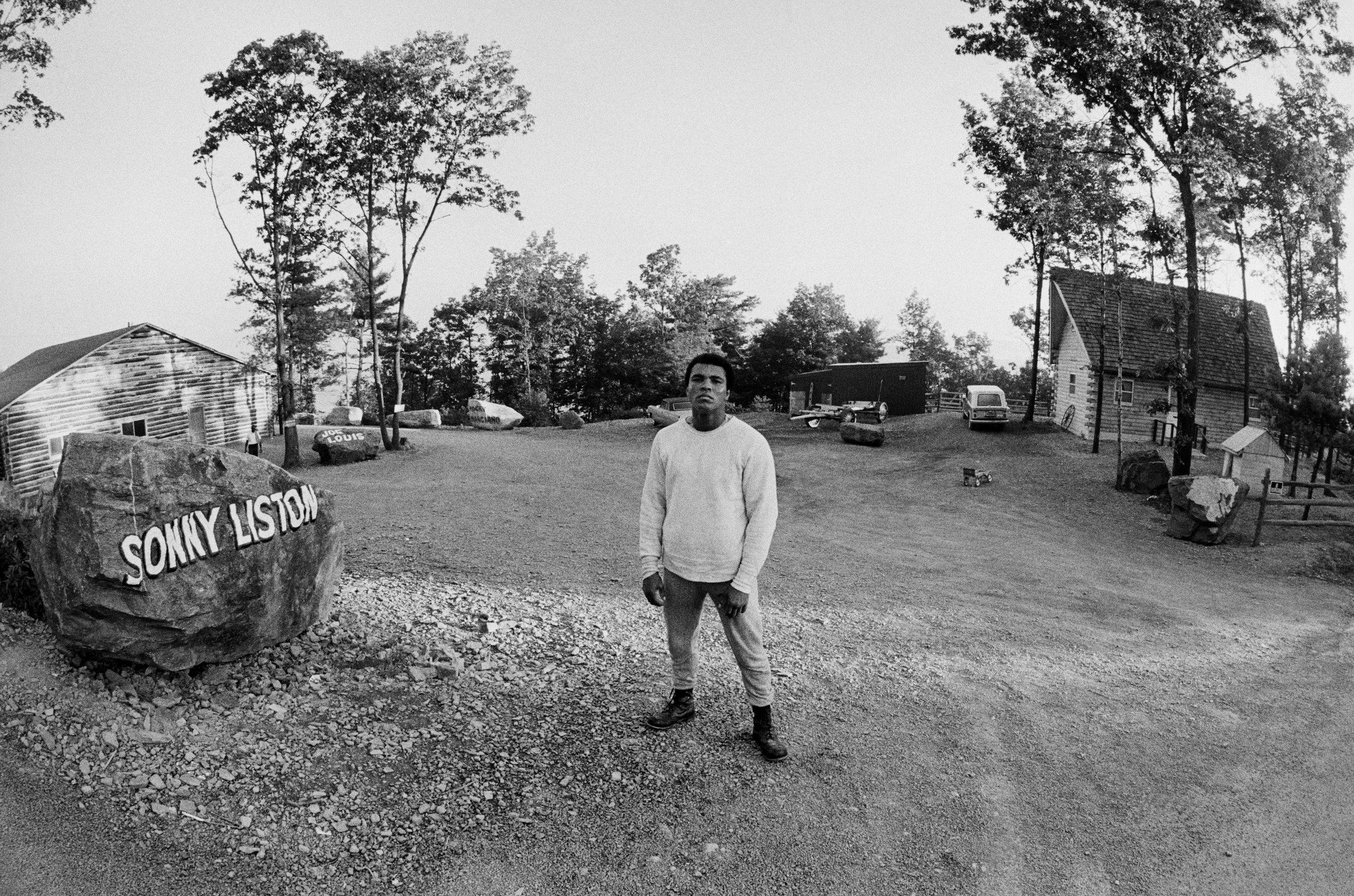 At Camp Entrance