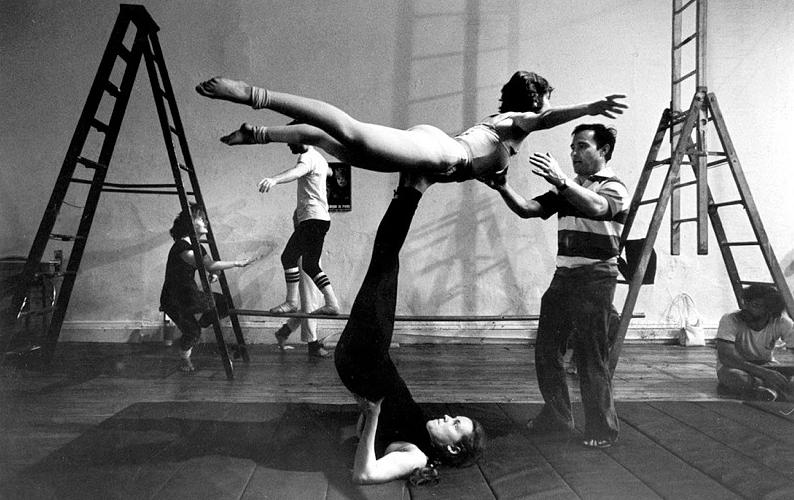 Acrobat training