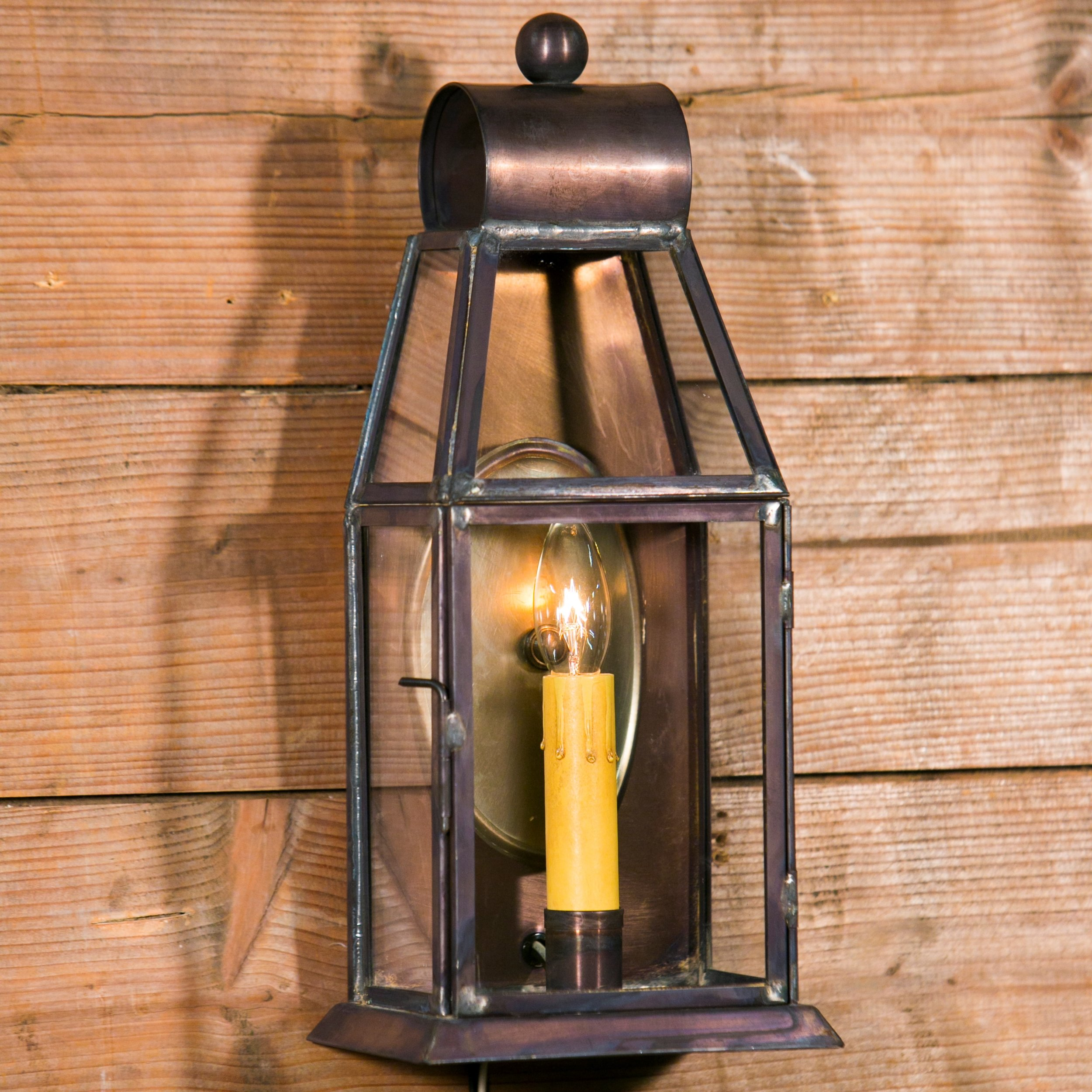 """Brazos"" Small Wall Lantern"