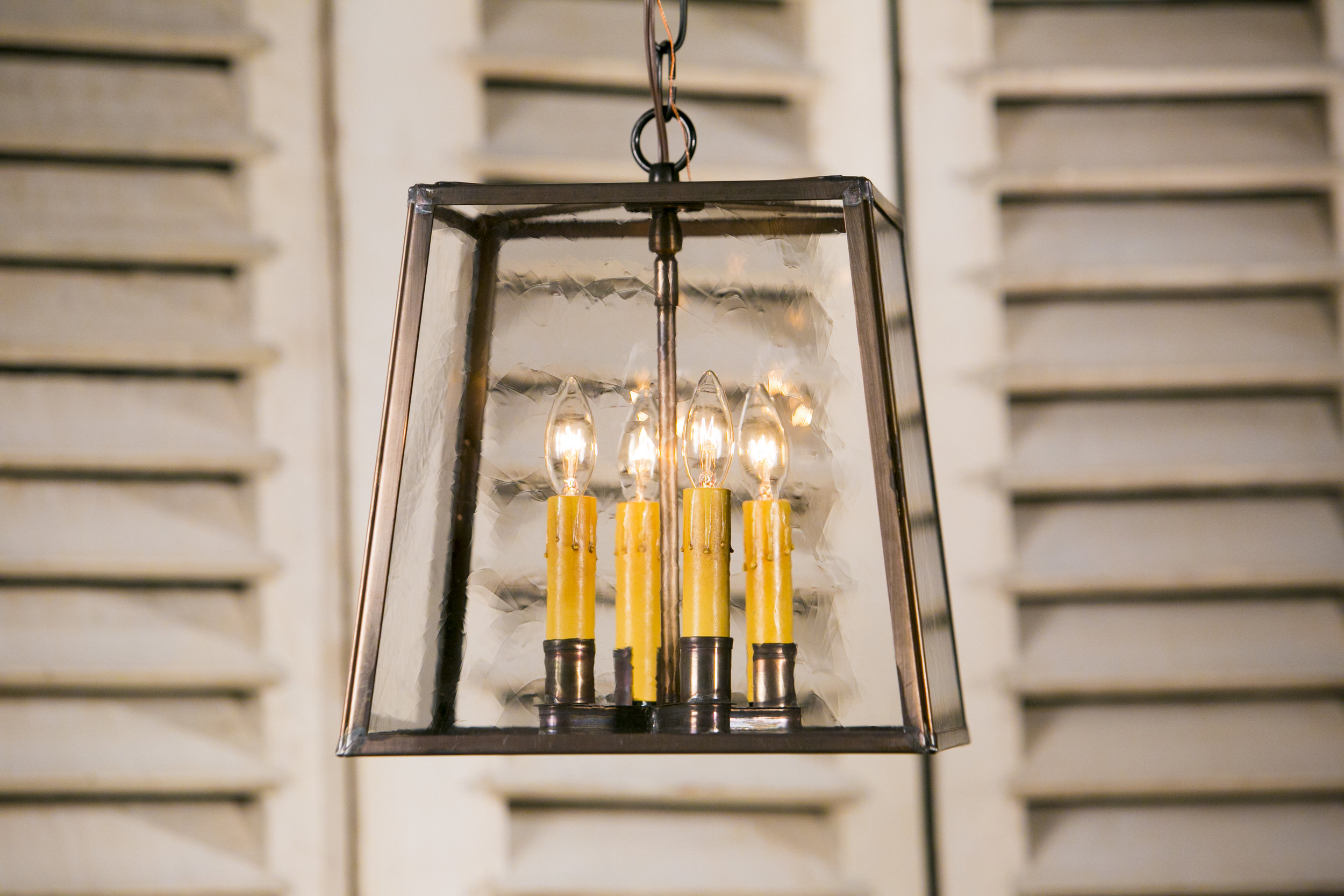 "Hand-Crafted Brass ""Ashland"" Lantern"