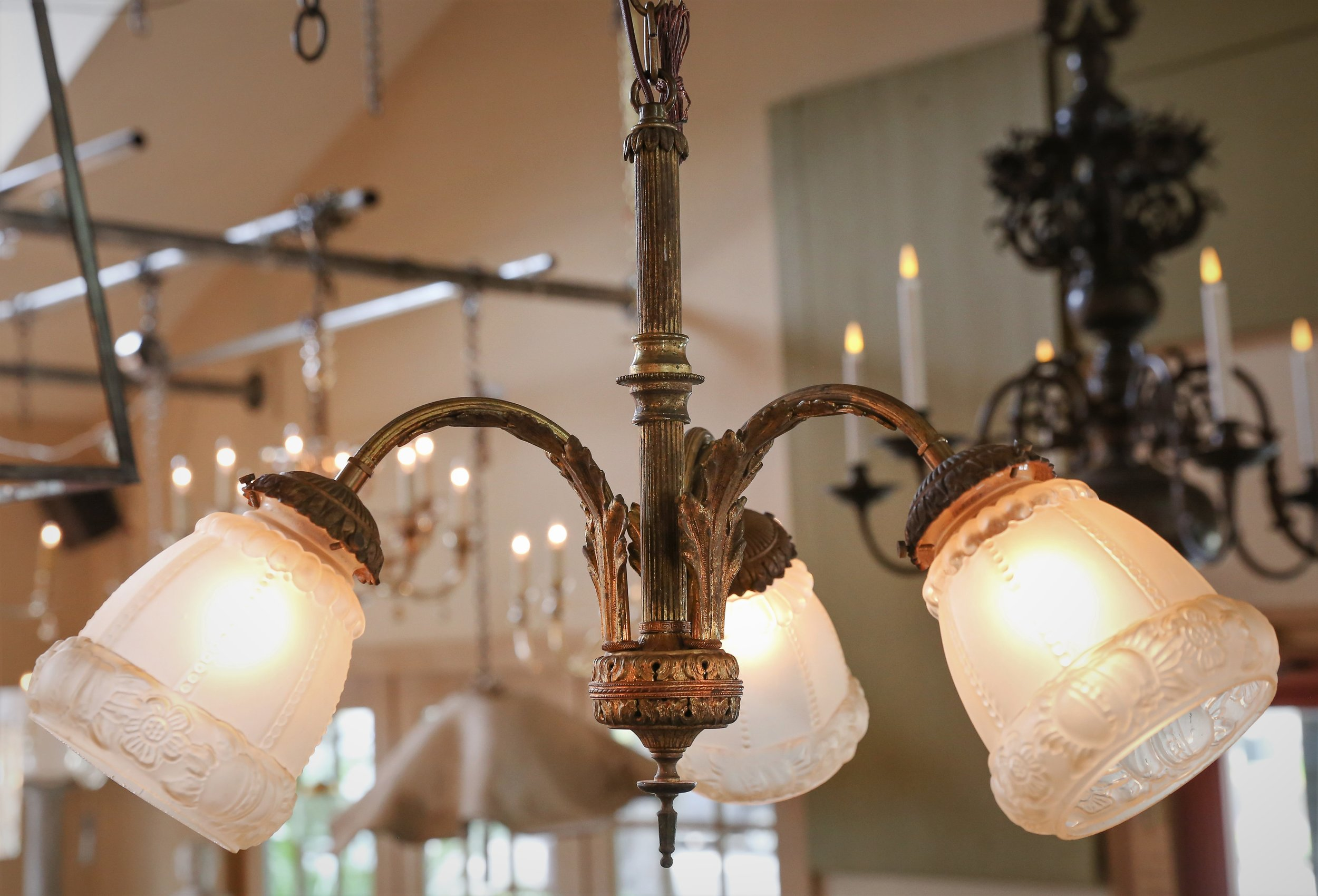 ANTIQUE ONE OF A KIND FRENCH CHANDELIER, CIRCA 1880'S