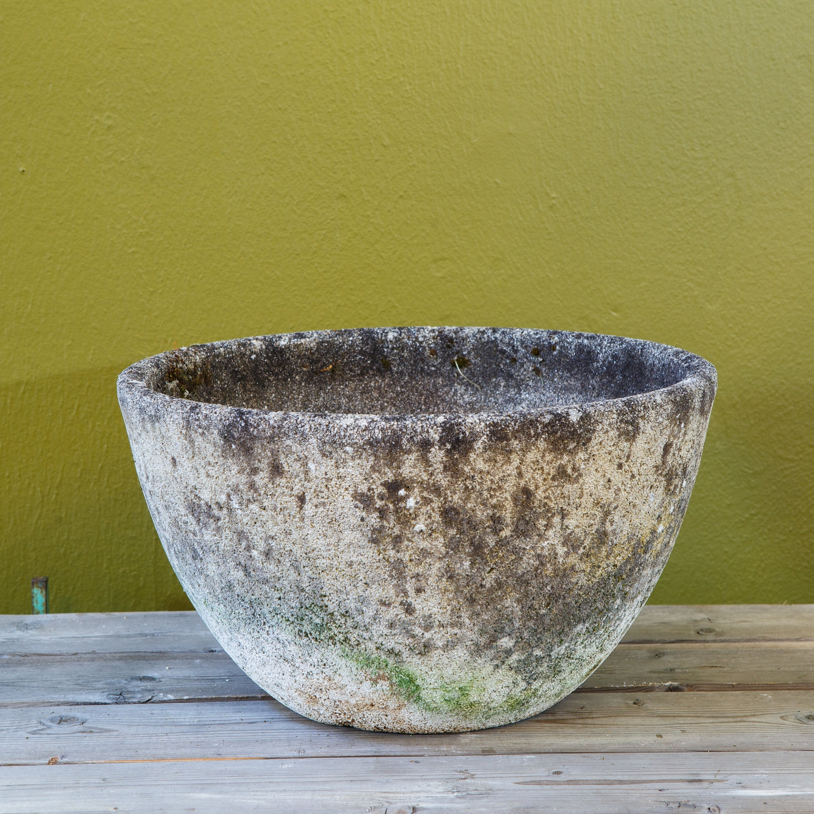 Vintage, French Cement Planter