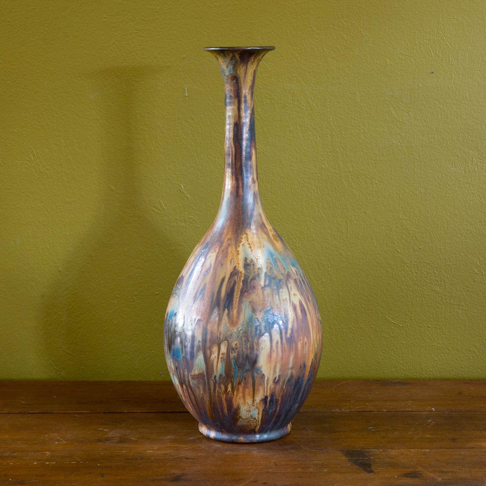 Pottery Vase by Roger Guerin