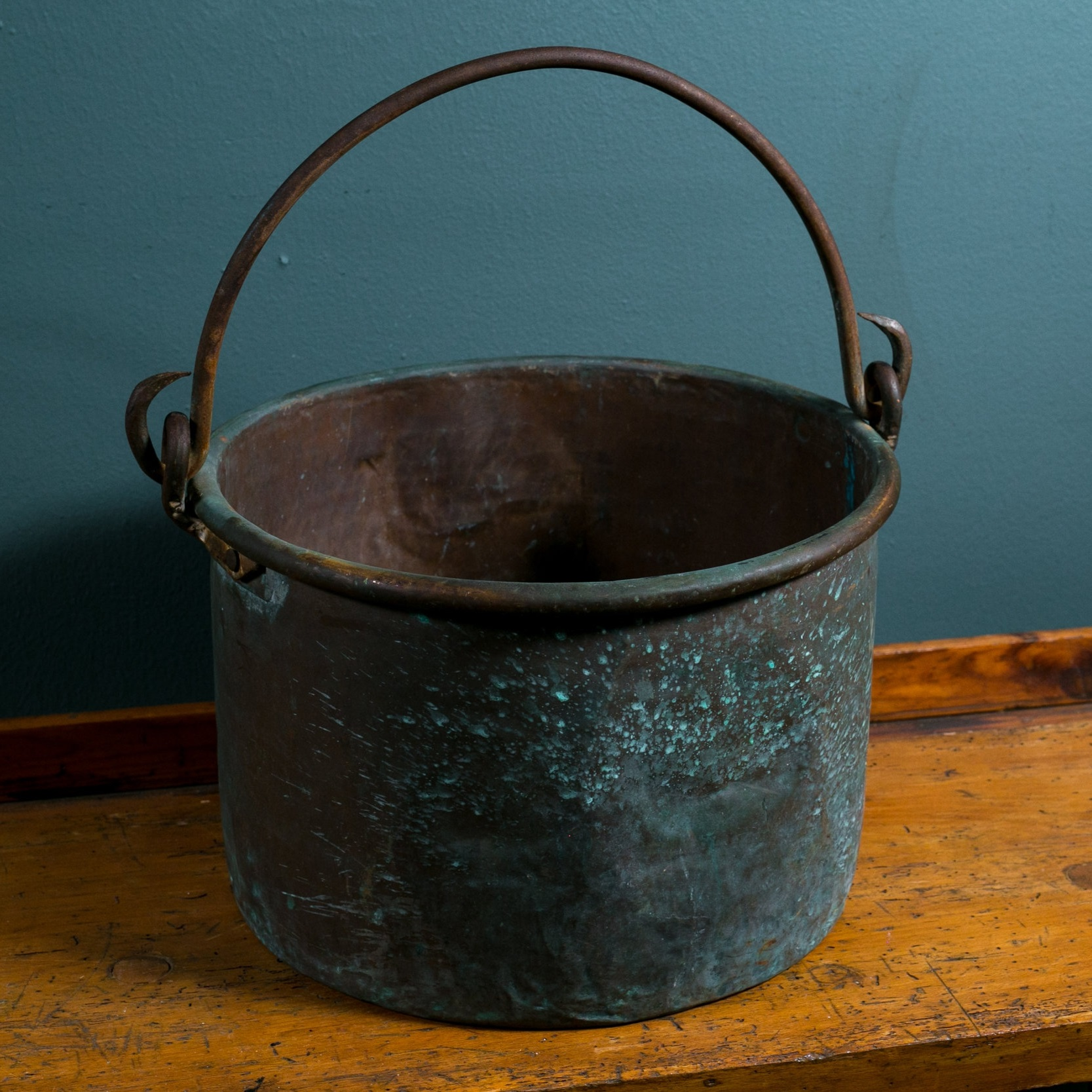 Antique French Copper Pot