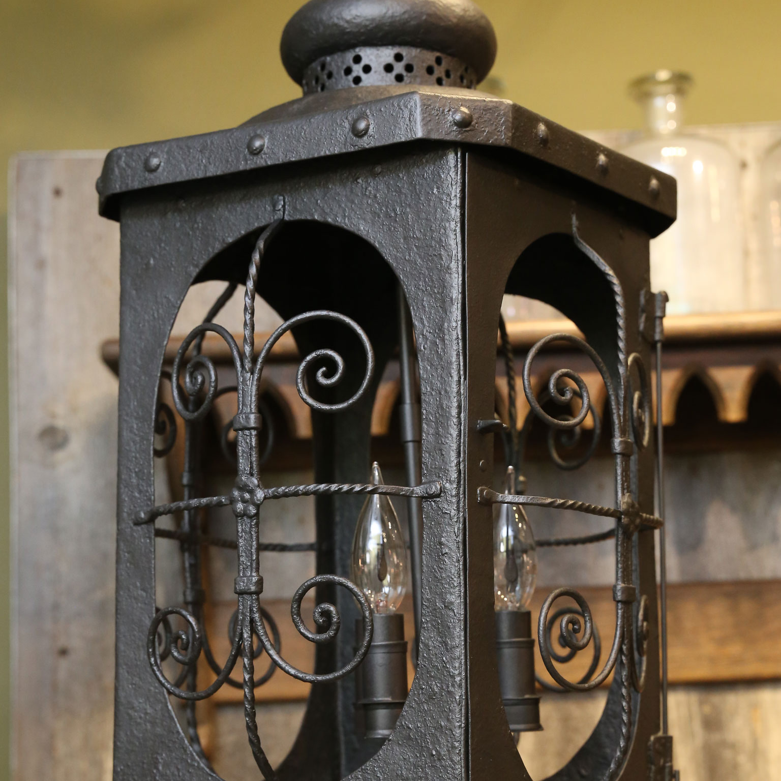 Antique Spanish Colonial Lantern