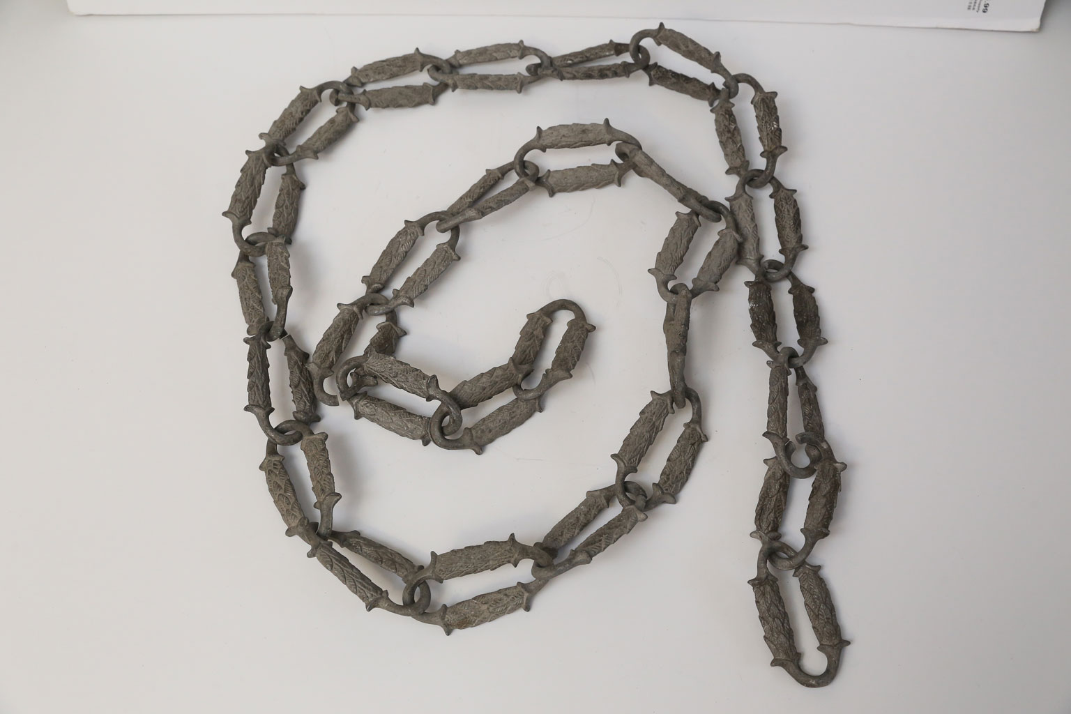 Rare 1920s Aluminum Decorative Chain