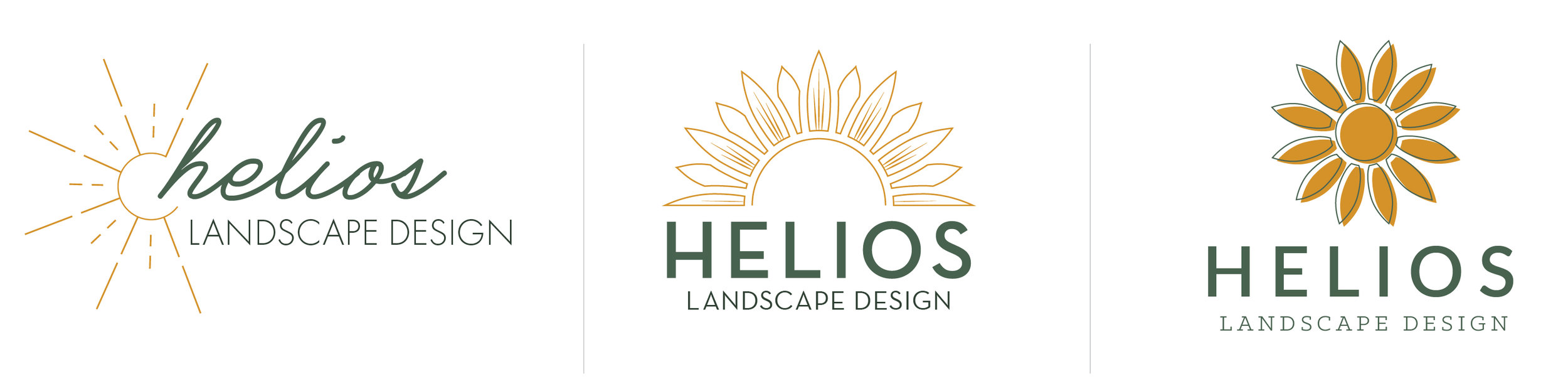 Landscape Logo Design Good Day Design Co.