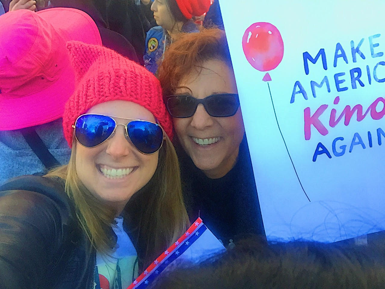 Women's March 2017 with my mama