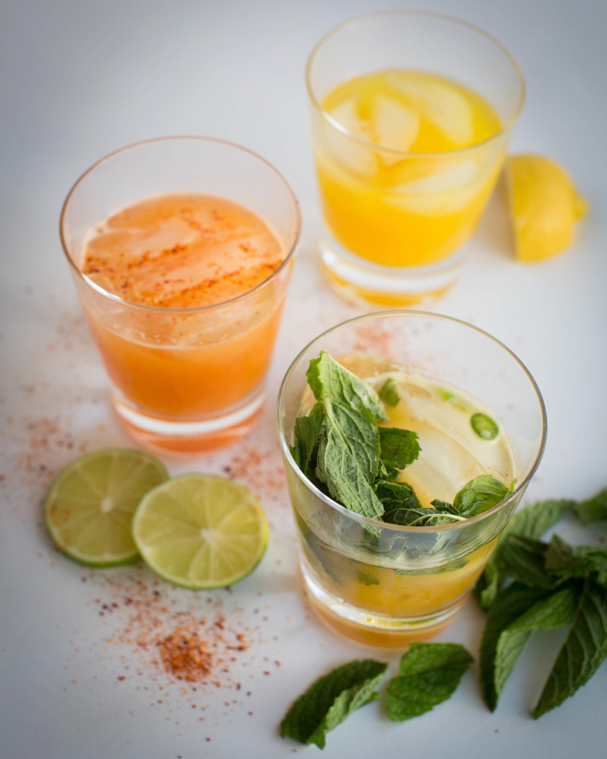 spicy summer cocktails.