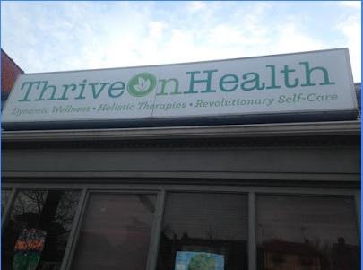 Thrive On Health   This new wellness center offers various massage modalities, an infrared sauna, acupuncture, and Medical Marijuana Certification