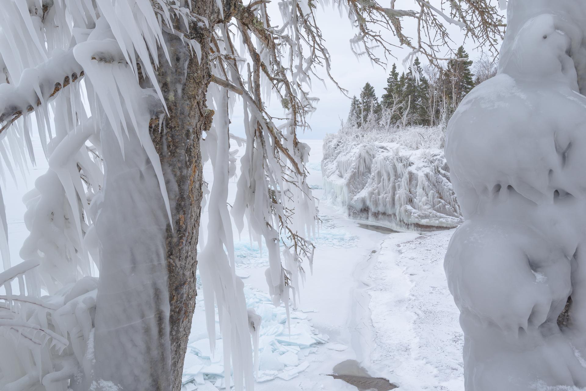 Winter wonderland: Tettegouche State Park