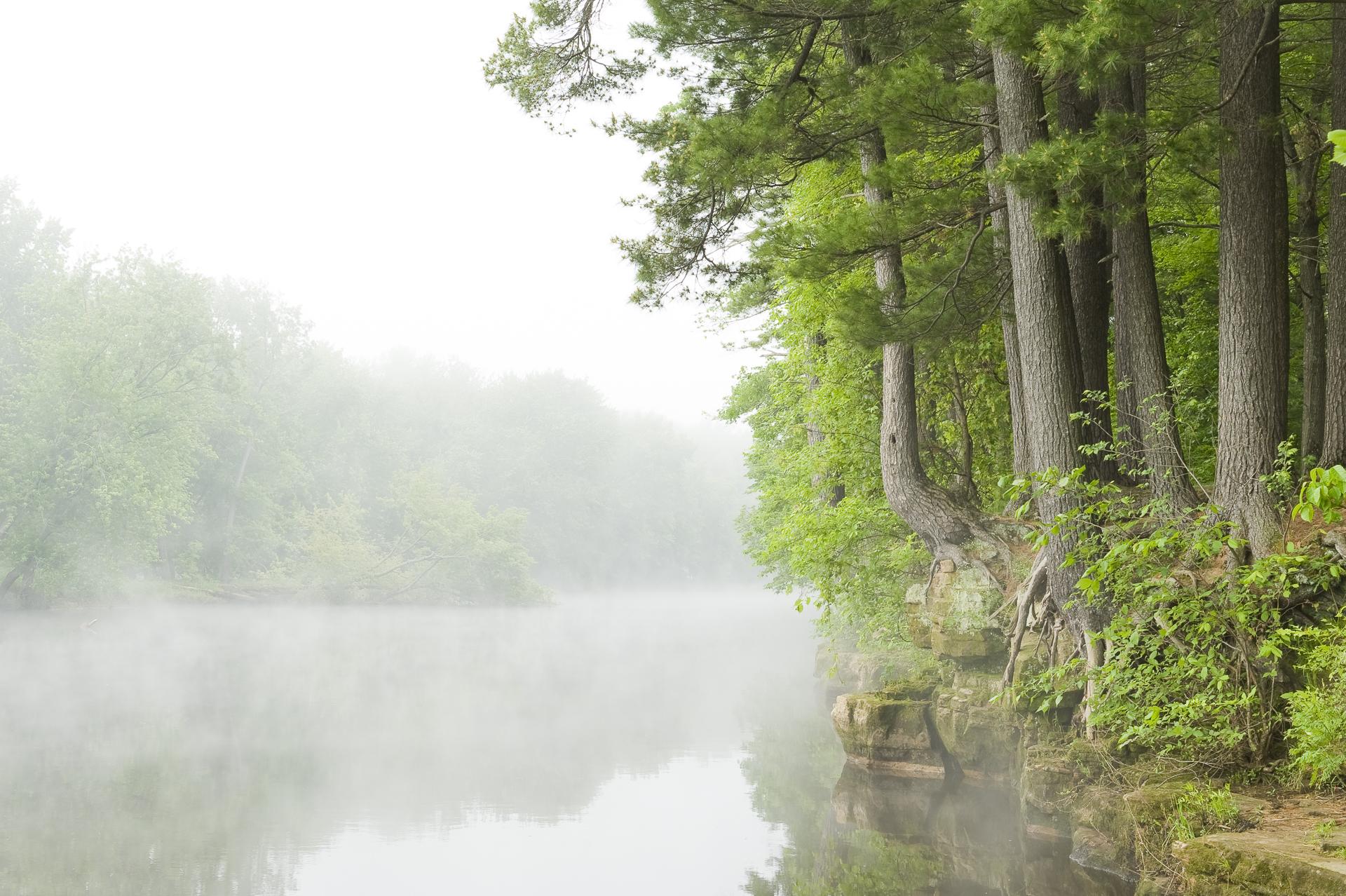 St. Croix river fog