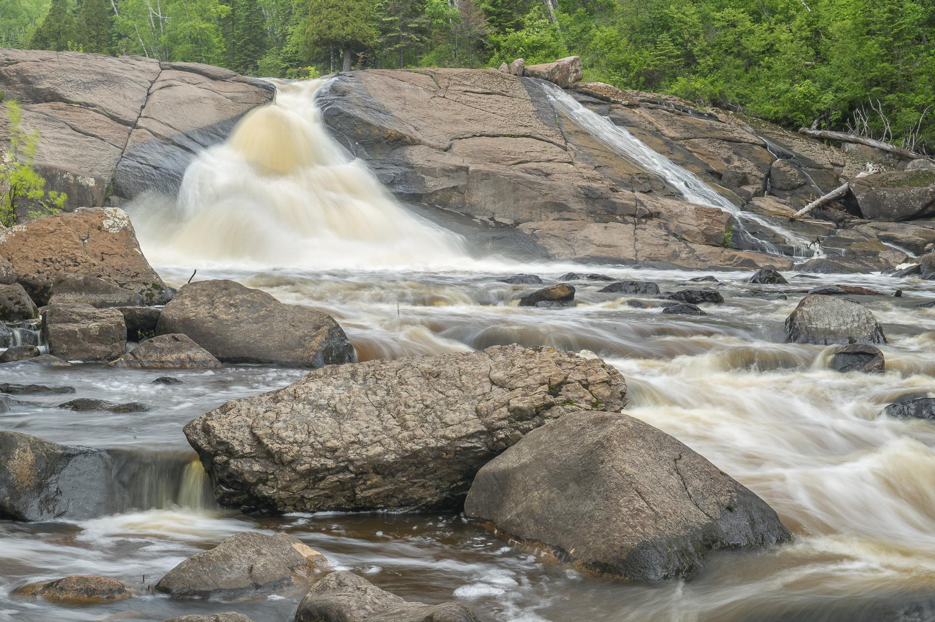 Swollen Beaver River