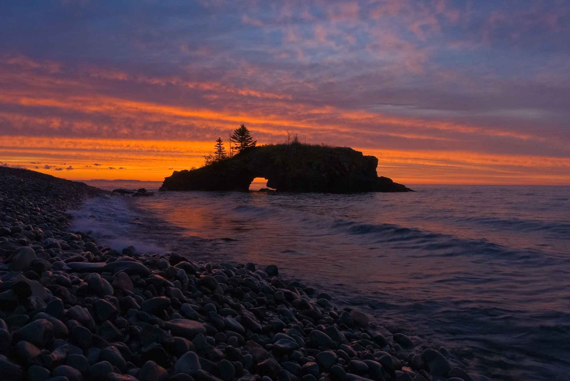 Hollow Rock sunrise