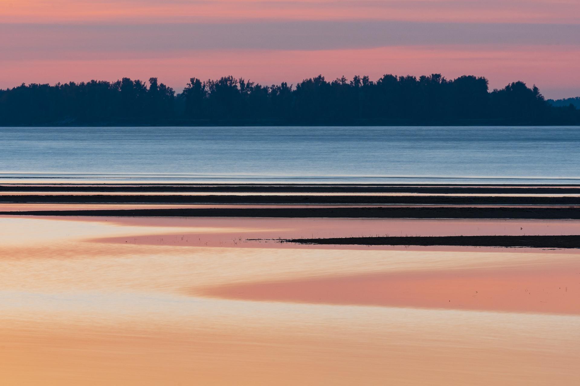 Sunset light on the Columbia