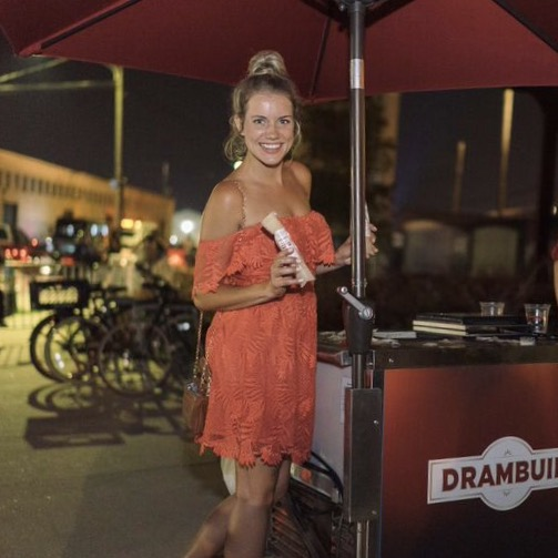 FrutaPOP created the Dramboozy POP for Drambuie and The Dogma Group for Tales of the Cocktail in New Orleans that kept guests #BUIECOOL