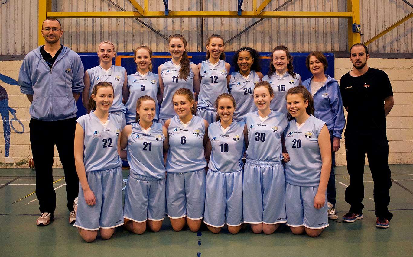 DCU-Mercy-Under-17-Team