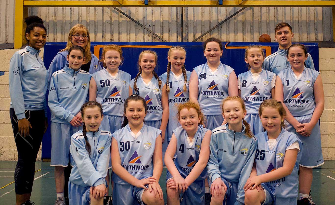 DCU-Mercy-Under-13-Team