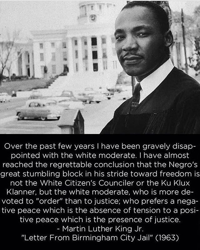 A reminder that MLK was considered a radical when he was alive. Any ~*love and light, you're being divisive*~ talk is white washing the narrative #mlkanniversary