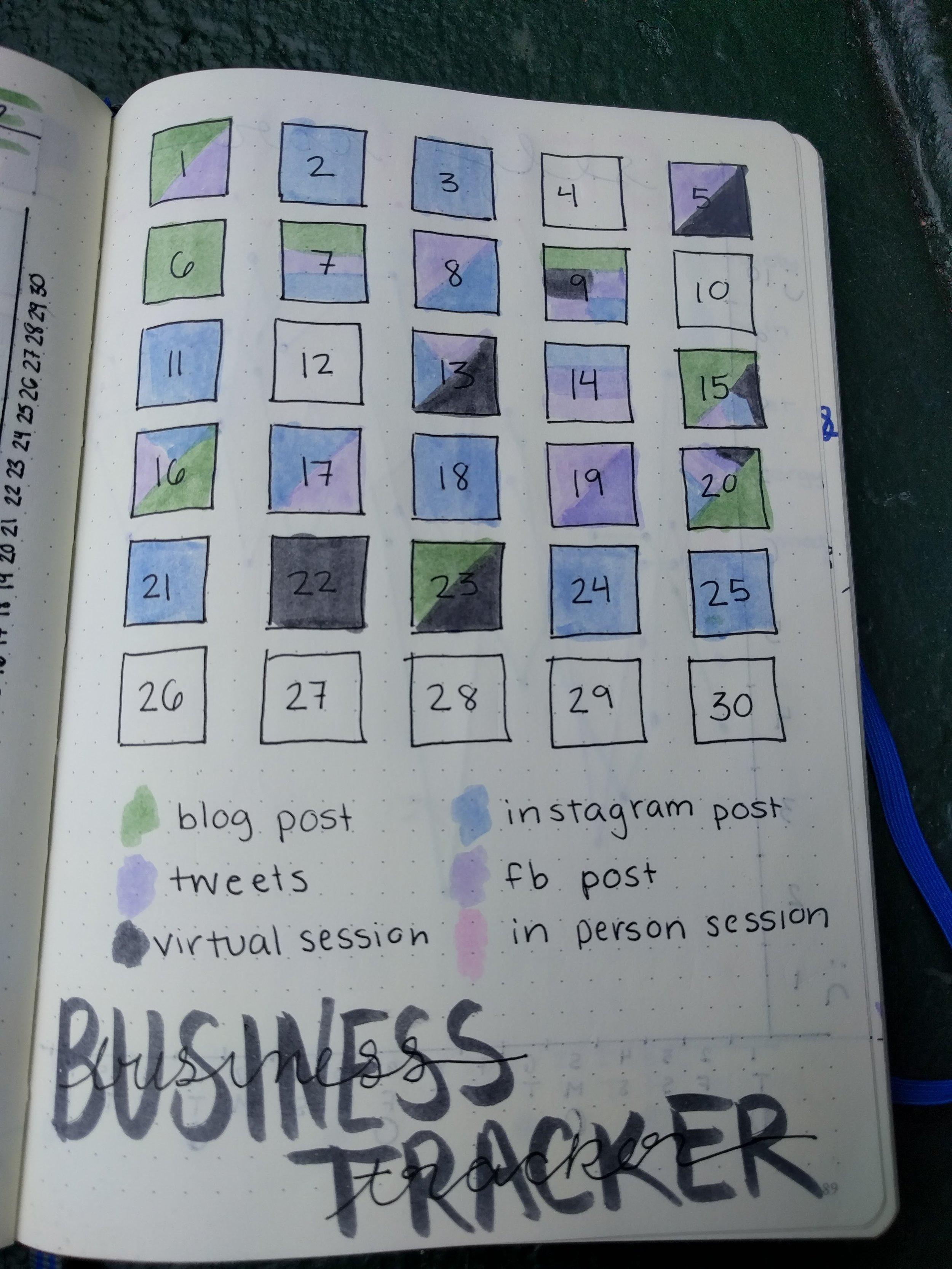 Business Tracker