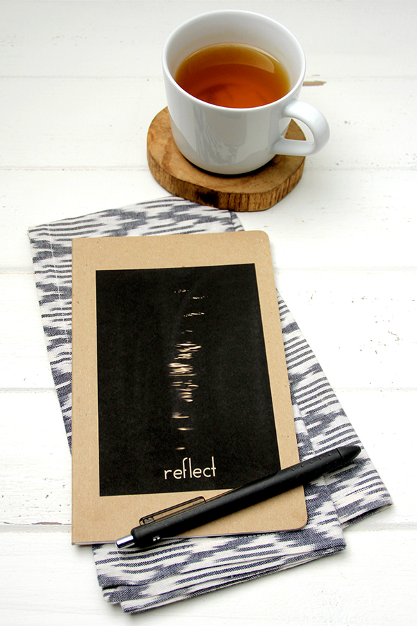 Recycled Journal - Reflect