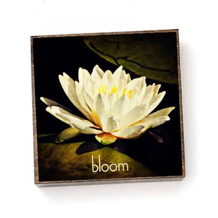 Wood Block - Bloom