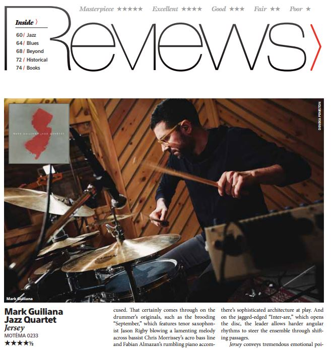 mark guiliana down beat review.JPG