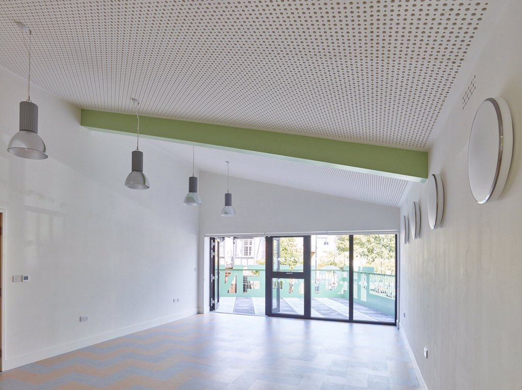 The Green HOT YOGA room