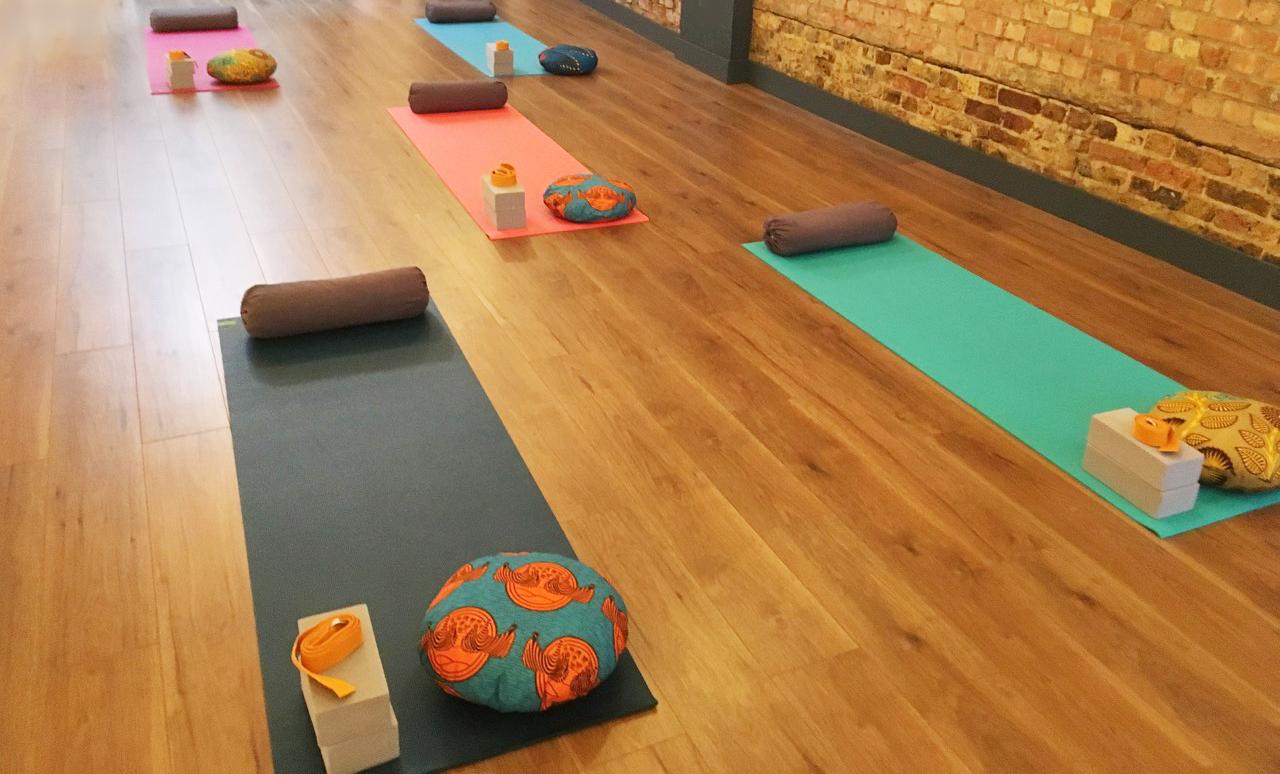 Hot Yoga Peckham workshops Victor's Lab Bussey Building