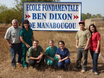 Ben Dixon Elementary  Manabougou, 2010