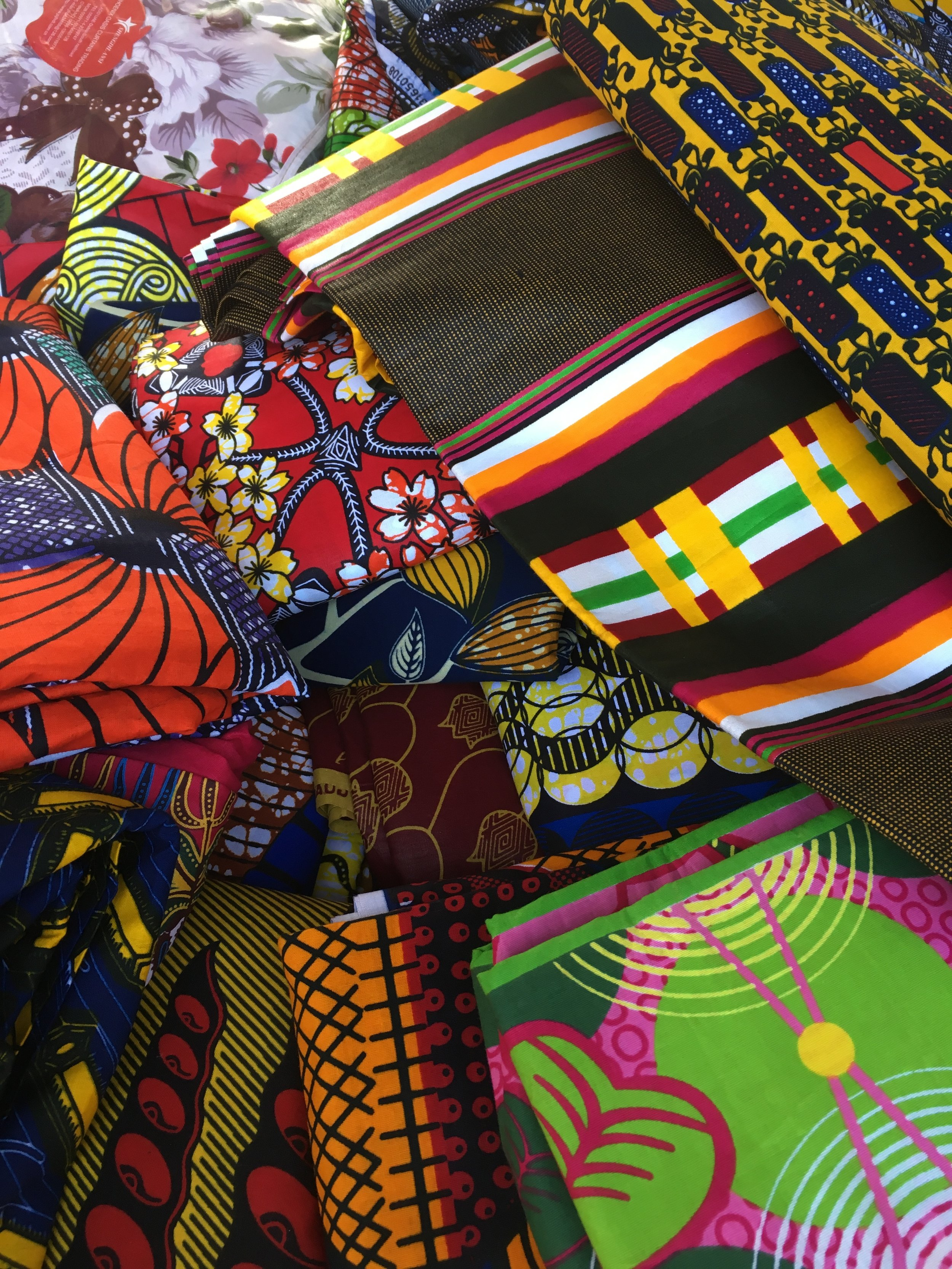 If you like fabrics -- or just a riot of color -- you'll be very happy indeed.