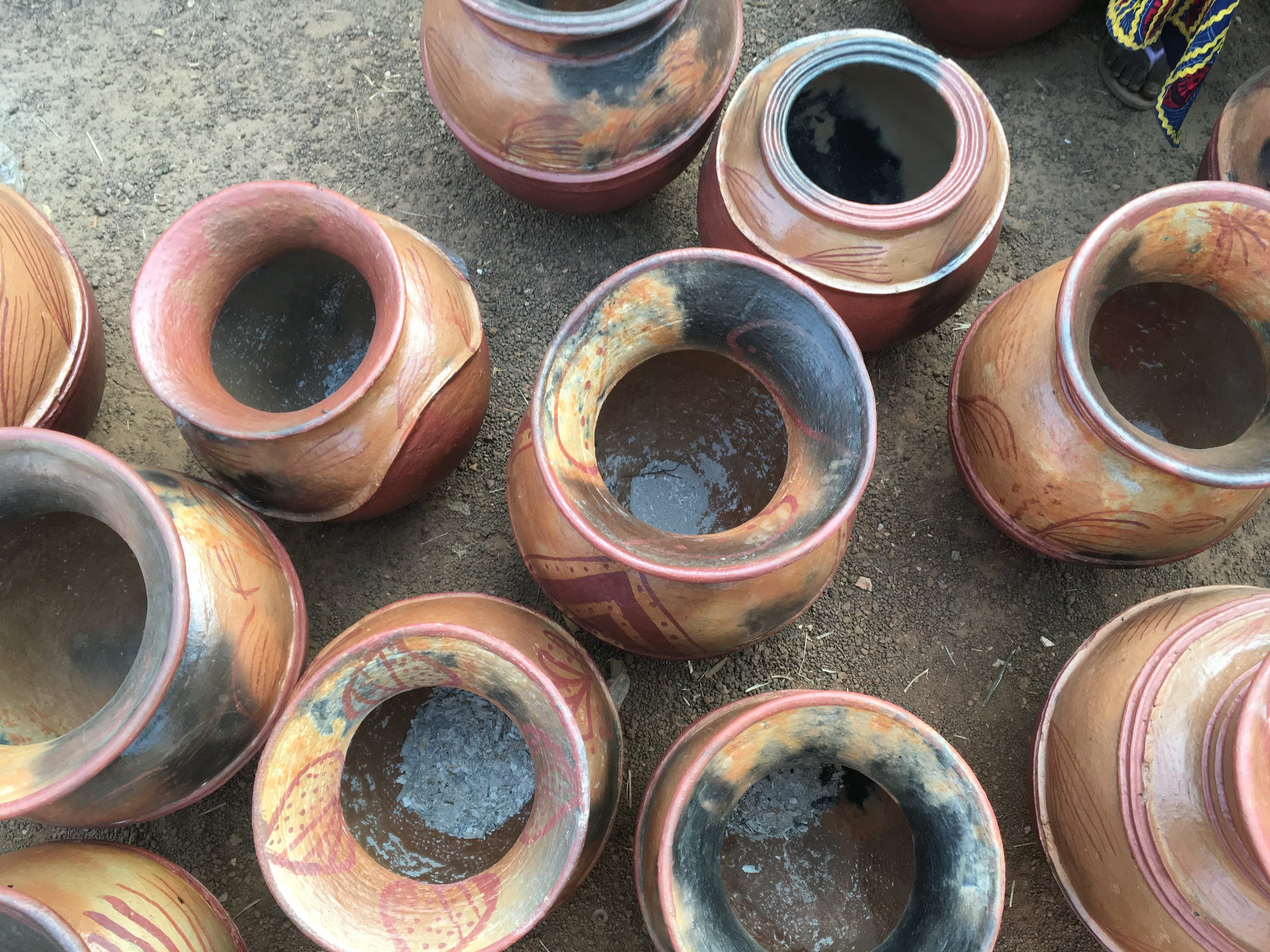Beautiful pots.