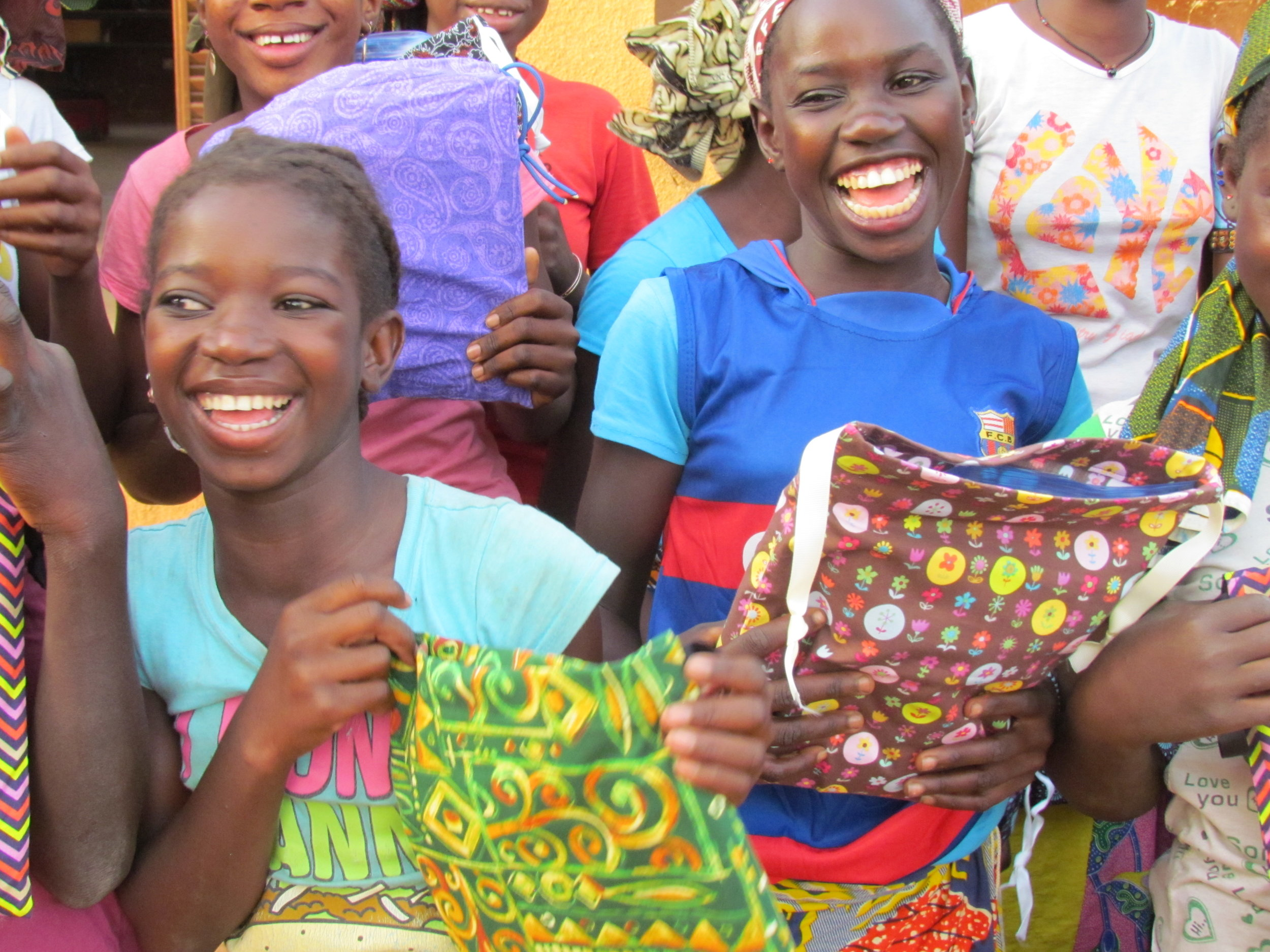 HELP GIRLS STAY IN SCHOOL - Join a team making menstural kits for our girls