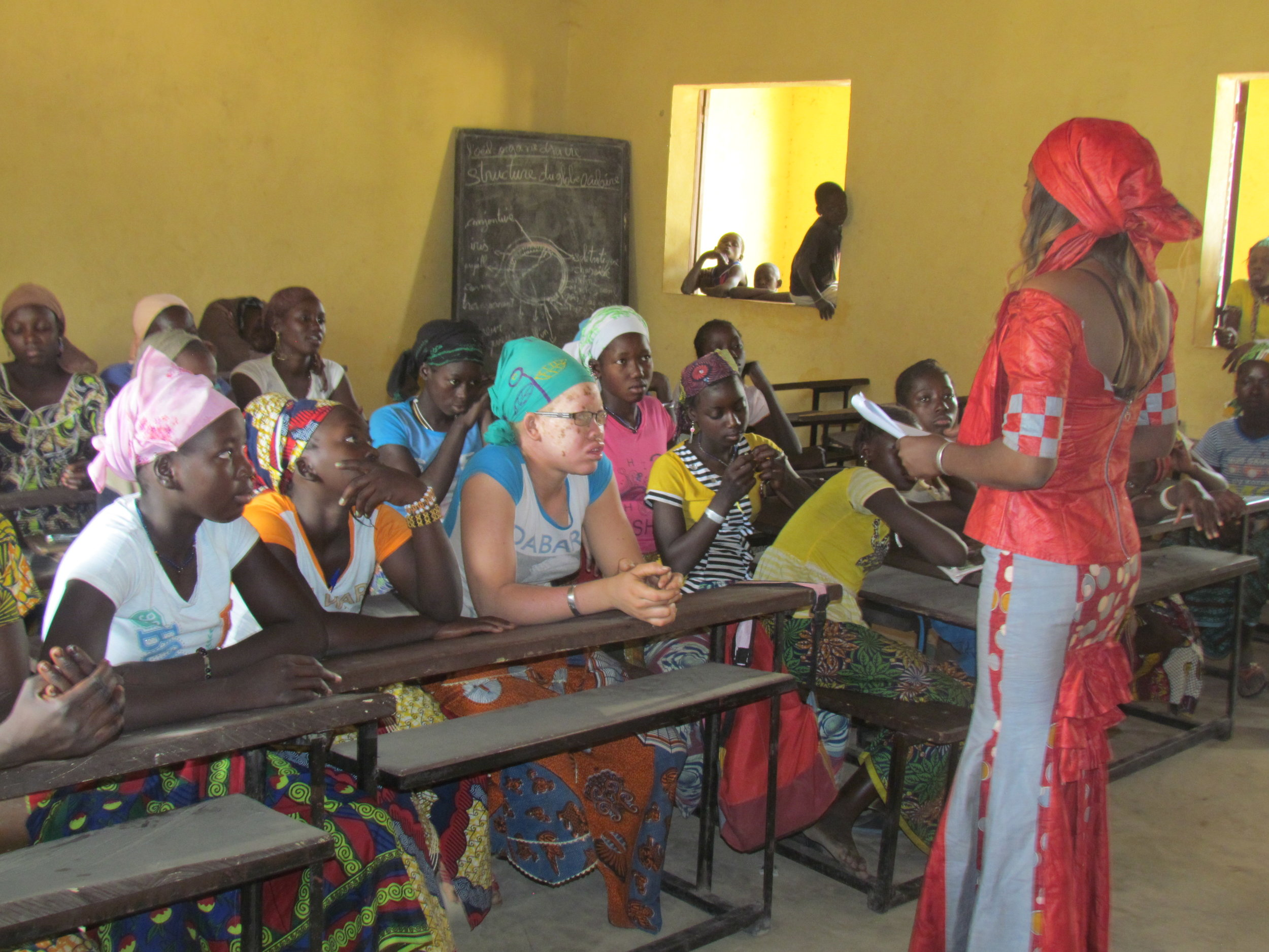 Our Girls Project Coordinator Hindaty helped girls in our pilot schools learn life skills that help them stay in school, but that will also help them succeed in life.