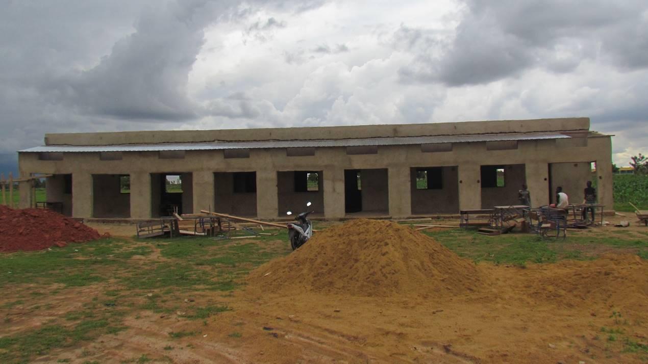 Sebela's new school is taking shape.