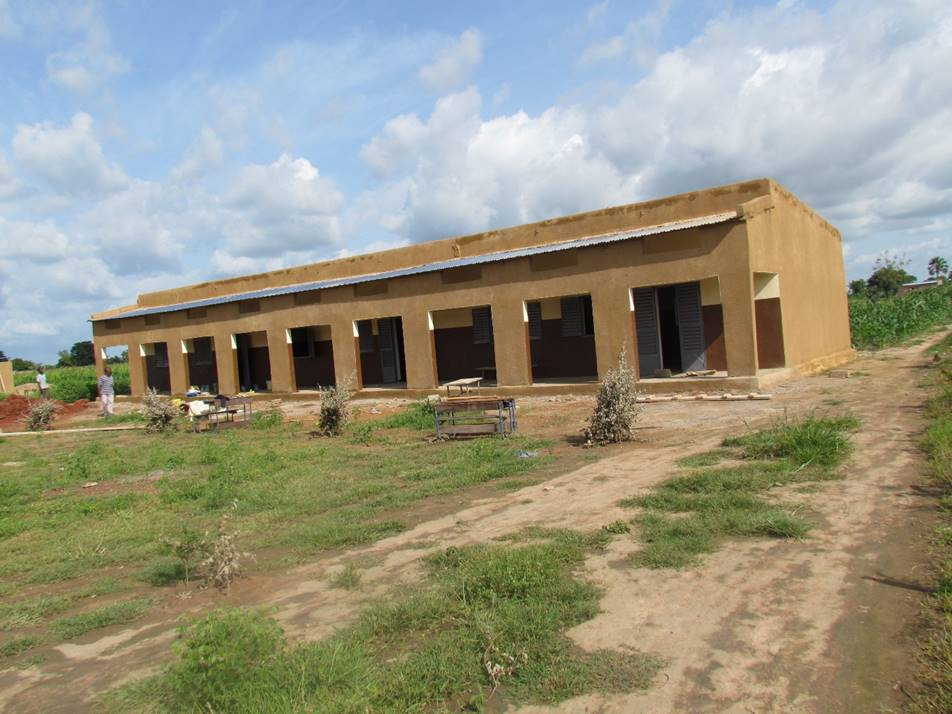 The completed school...just waiting for desks and, of course, students!
