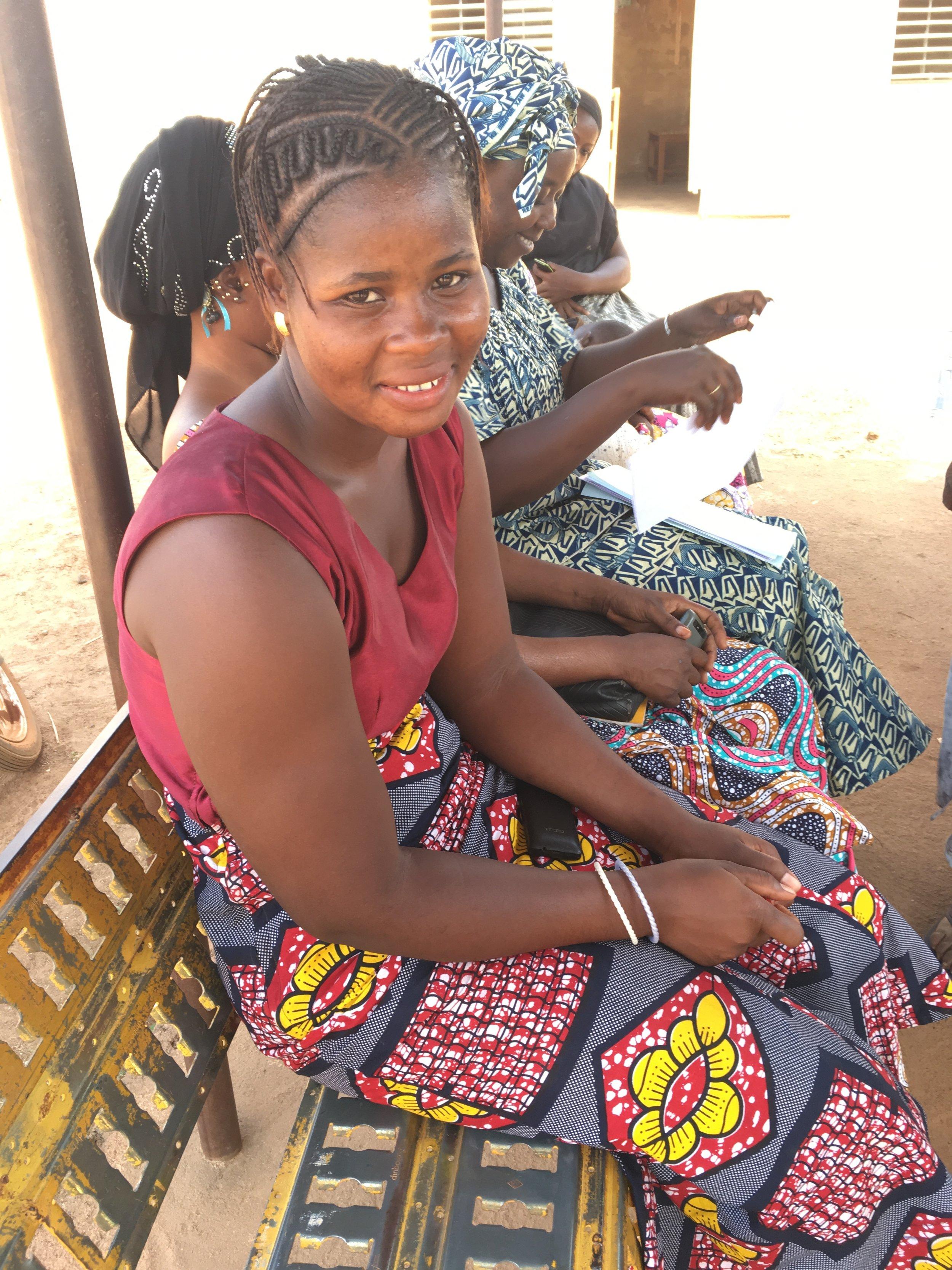 Inspiration Scholar Sophie helped delever 40 babies as part of her nursing internship. Forty. 4-0.
