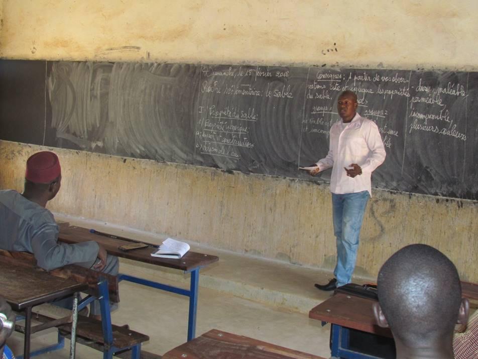Adama Traore shares a natural sciences lesson for critique.