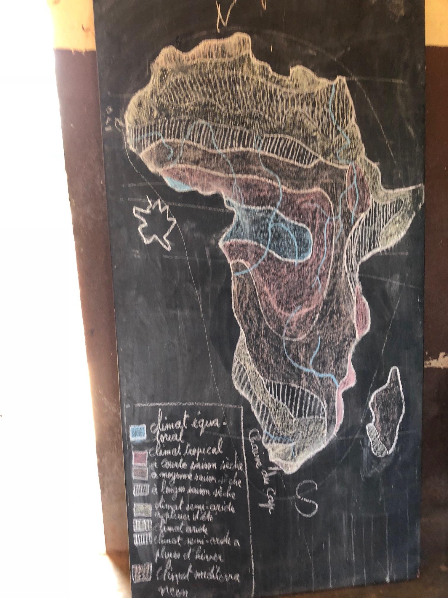 Our teachers make the most beautiful chalkboard art.