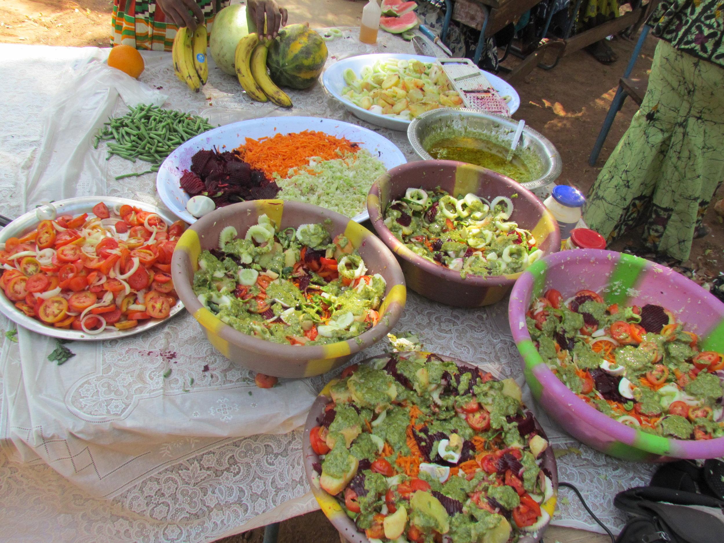 Vegetable salad.