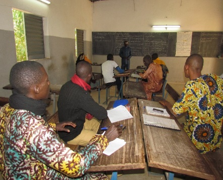 Our teachers become students for 5 days, thanks to Mali Rising supporters!
