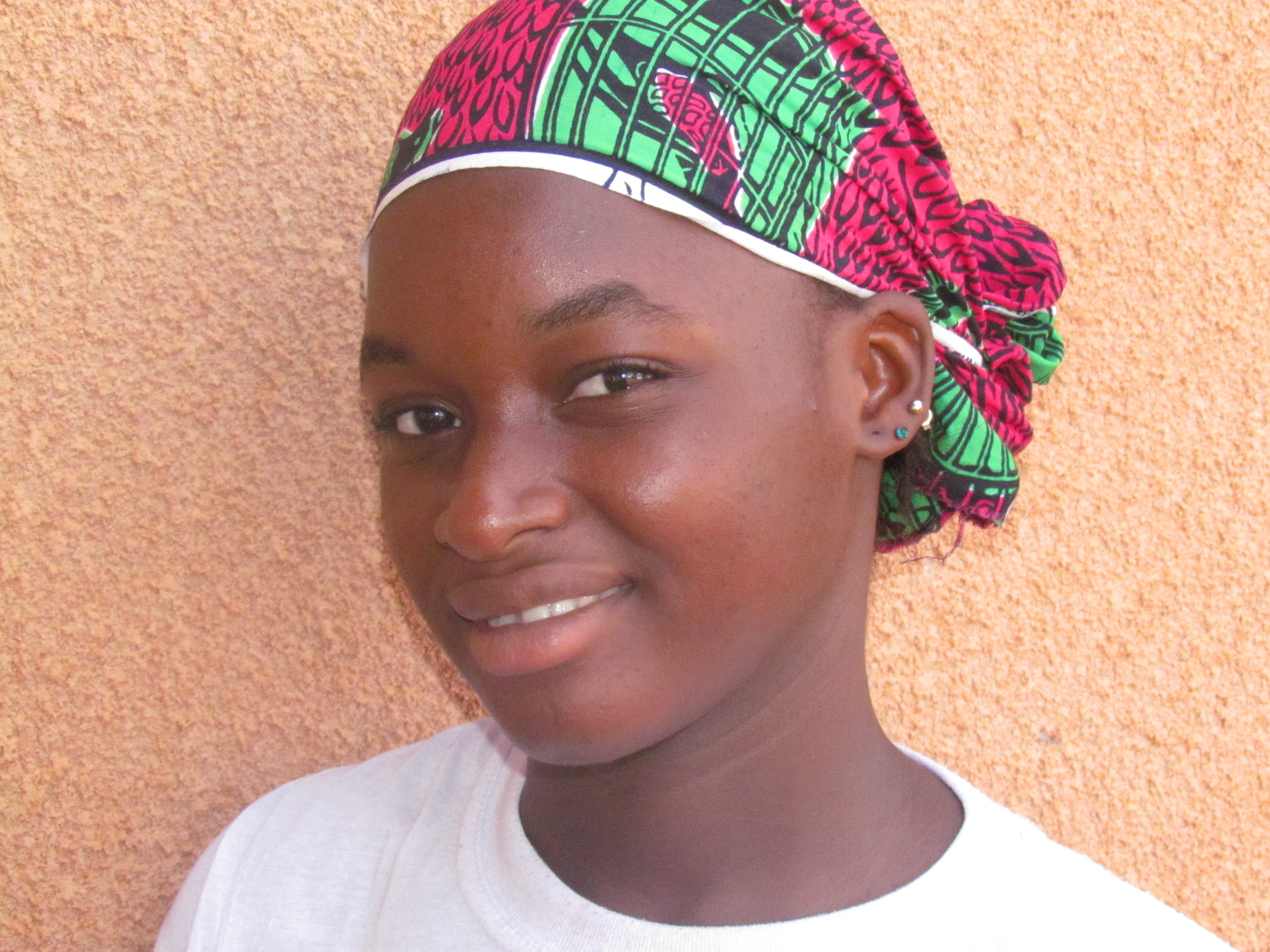 Kadia is one of our first group of Strong Woman Scholarship students, sponsored by Mary in honor of her sister Chris.
