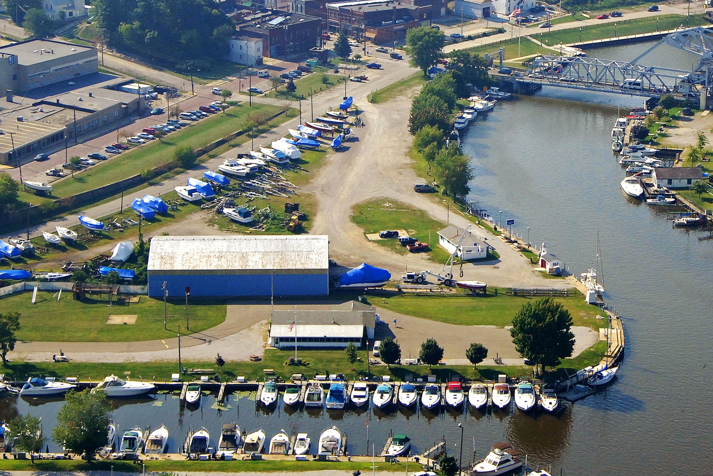 Sutherland Marine - 970 West 5th Street * (440) 964-3434Located east of the Lift Bridge in the picturesque Ashtabula River.